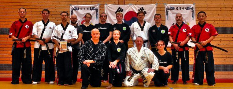 Kummooyeh Instructor Tim Olbrich Maik Löhr Hyun Kjoo Jang